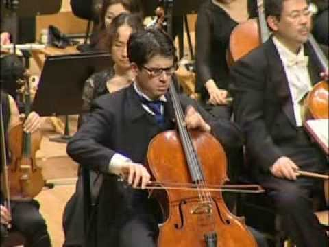 Prokofiev Sinfonia Concertante op. 125 in e minor 3rd Movement with DANJULO Ishizaka