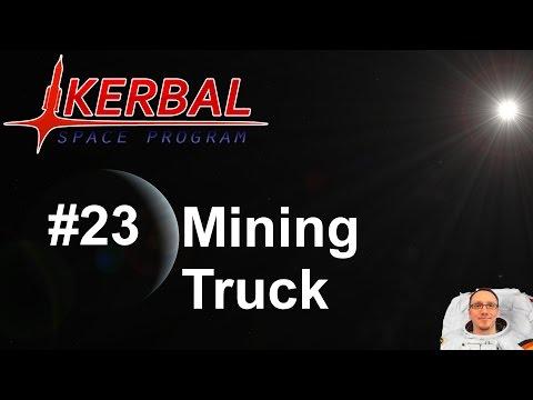 KSP Karrieremodus - Tutorial - #23 Mining Truck ( deutsch / german ) [1.0.4]