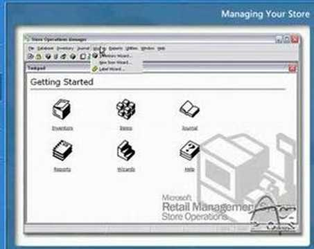 Act Pos Amp Microsoft Dynamics Rms Demo And Information