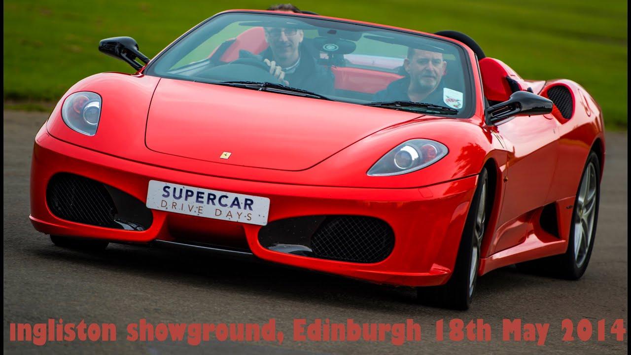Supercar Drive Days Ingliston Edinburgh May Youtube