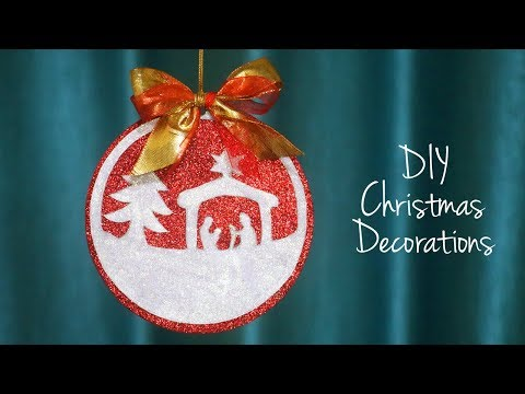 Easy Christmas DIY | Christmas Decorations | Christmas Ornaments | DIY Decor