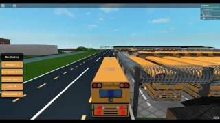 ROBLOX SCHOOL BUS SIMULATORS