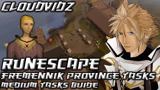 Runescape Fremennik Province Medium Tasks Guide HD