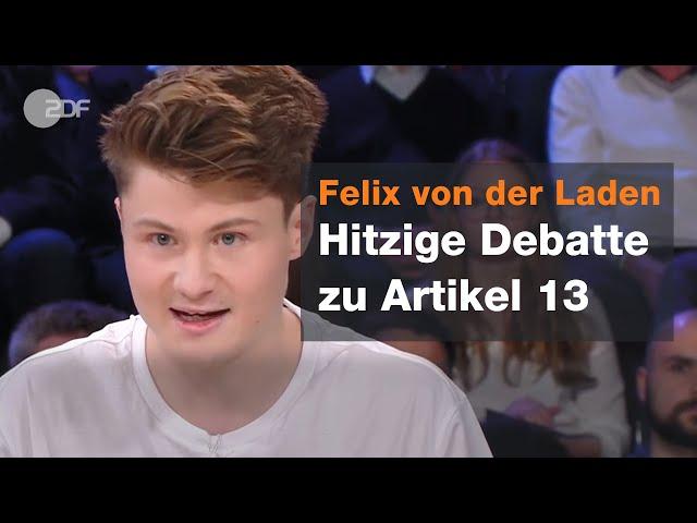 Diskussion über Artikel 13 | Maybrit Illner vom 28.03.2019 | ZDF