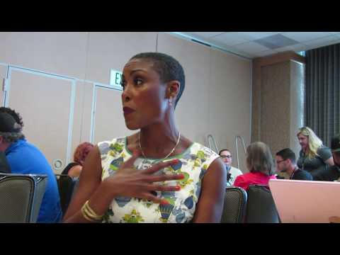 SDCC 2017: Christine Adams  Black Lightning