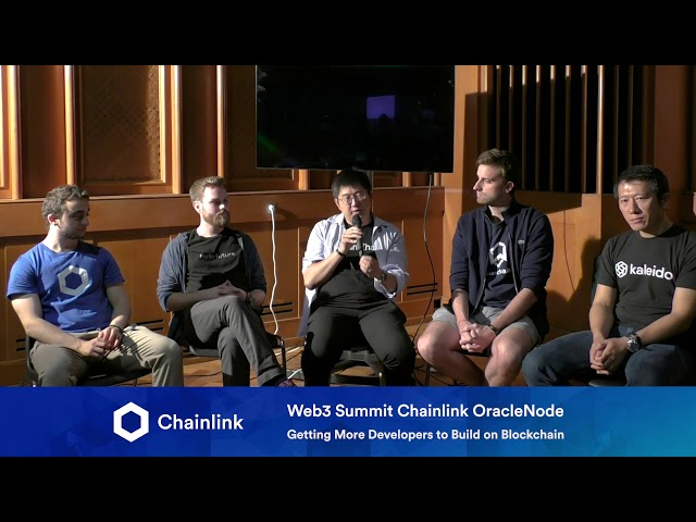 Chainlink Web3 Summit HackerNode: Getting More Developers to Build on Blockchain