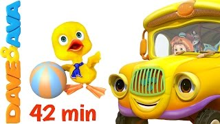 Download 😉 The Wheels on The Bus - Part 3 | Dave and Ava | Nursery Rhymes and Baby Songs 😉 Mp3 and Videos