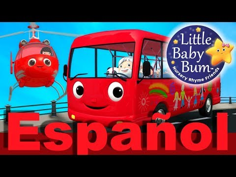 Las ruedas del autobús | Parte 13 | Canciones infantiles | LittleBabyBum