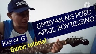 UMIIYAK ANG PUSO guitar tutoriallyrics and chords