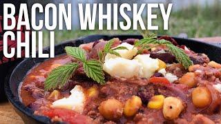 Bacon Whiskey Chili Recipe BBQ Pit Boys