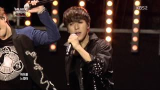 [1080p HD] 130319 Music Bank JKT BEAST - Beautiful Night