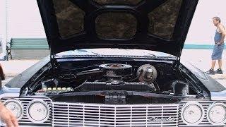 1964 Chevy Impala SS Two Door Hardtop Blu OT083113