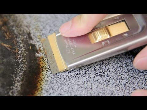 How to Clean Baked on Glass Stove Surface | BeatTheBush
