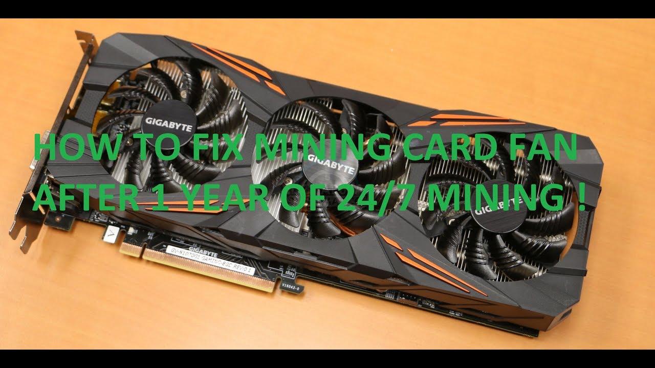 HOW TO REPAIR GTX 1070/1080/1080ti JAMMED GPU FAN