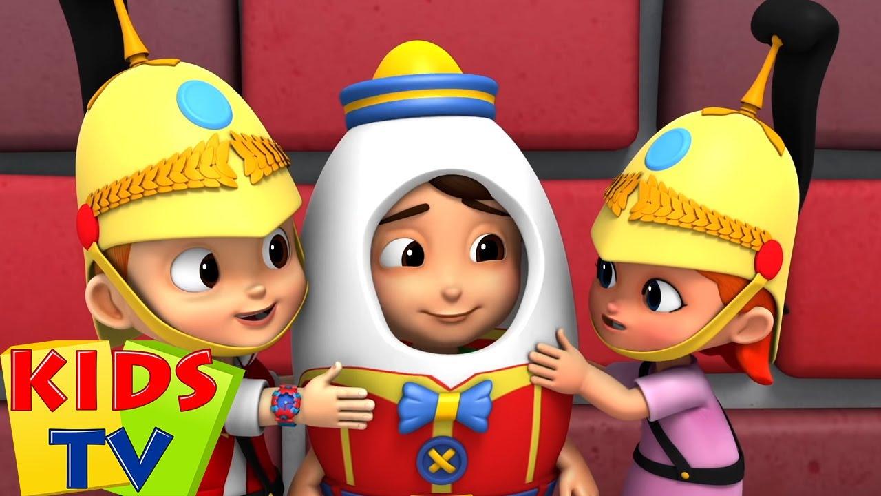 Humpty Dumpty sentado em uma parede | Musica para bebes | Kids Tv em Português | Canção infantil