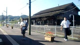 肥薩線 大隅横川駅 普通 下り 到着