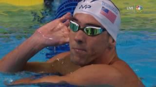 olympic swimming trials michael phelps wins his 200 meter im semifinal