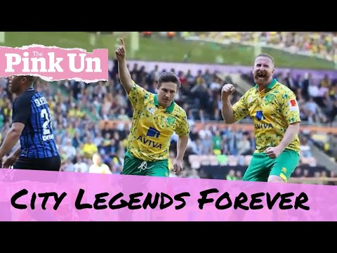 A legendary day for Norwich City  as Inter Milan help them Build The Nest