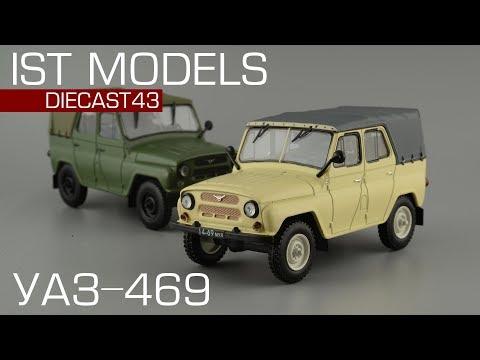УАЗ-469 [IST Models | Автолегенды СССР] обзор масштабной модели 1:43