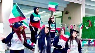 كواليس تصوير أغنيه ( عاشت لنا الكويت )  🇰🇼