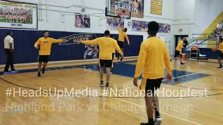 Simeon (IL) vs Highland Park (TX) @ The National Hoopfest in Dallas