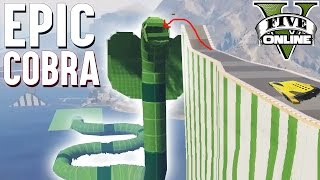 EPIC COBRA JUMP ★ GTA 5 Custom Map (+Download) ★ GTA Online LPmitKev