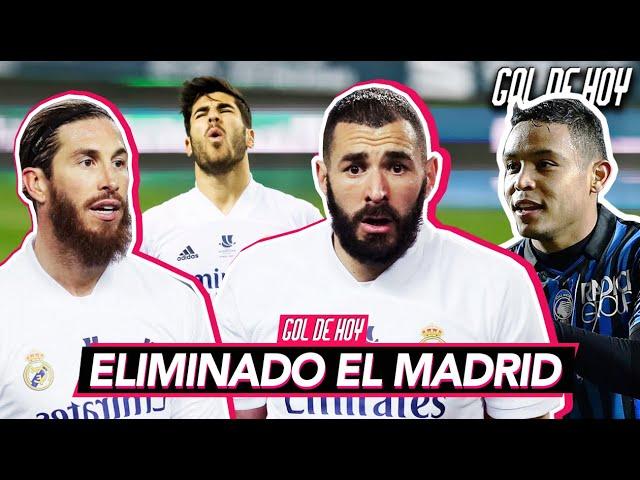 ELlMINACIÓN del MADRlD en SEMIS   MURlEL clasifica al ATALѦNTA   #goldehoy