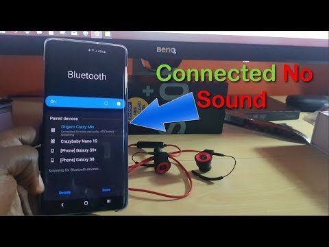 Bluetooth Connected But No Sound Fix Youtube