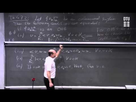 Orthonormal Bases Vs Fourier Series Part 2