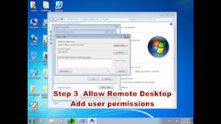 WIN 7 server setup for thin client
