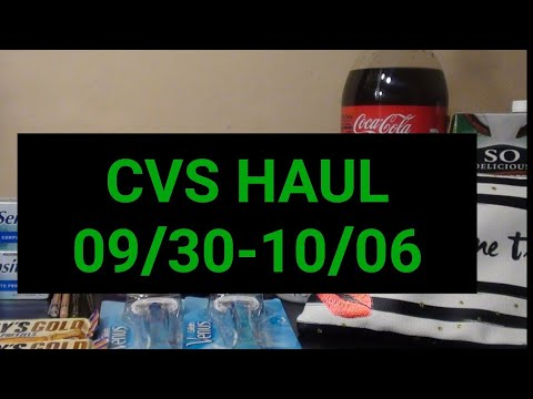 CVS HAUL 09/30-10/06|GREAT DEALS