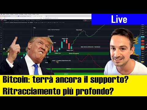 Bitcoin: Altro DUMP In Vista? Donald TRUMP Vs Criptovalute | News & Analisi Di Mercato