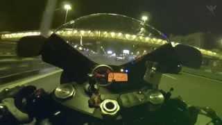 #022 - Ночная Покатушка На Мото. Смотра. Ночная Москва