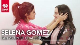 Selena Gomez Duels Fan in Selena Trivia Fan Vs