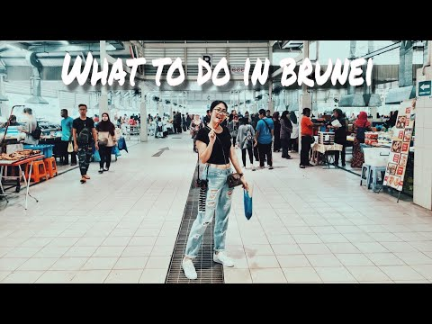 Touristy Mosques and Food trip in Brunei Vlog #10