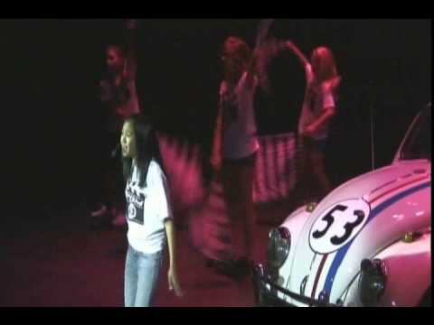 """PDM Young Actors Workshop perform """"First"""" from Herbie Fully Loaded starring Lindsay Lohan"""