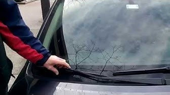 HOW TO replace SUBARU LEGACY wiper blades