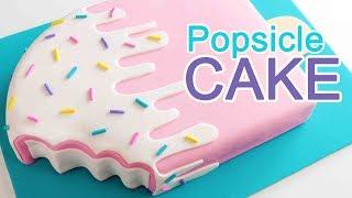GIANT POPSICLE CAKE!