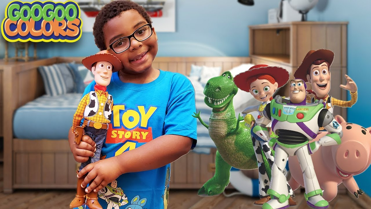Where Are My Toy Story 4 Toys Hide And Seek Game With