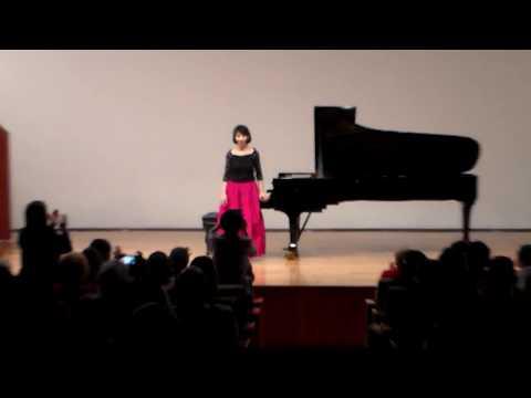 Leticia Gómez-Tagle plays: Danzón n. 2 by Arturo Márquez.