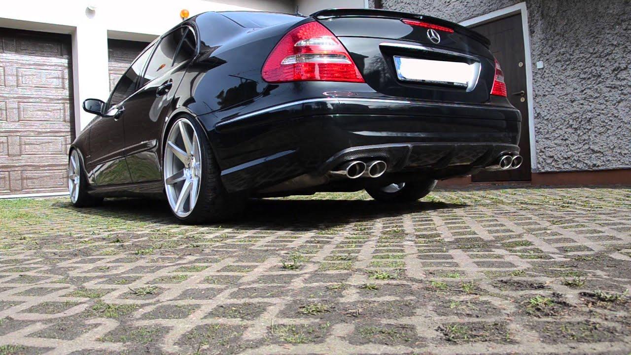 What Is A Muffler Delete >> Mercedes W211 Custom Exhaust (Xpipe , muffler delete) - YouTube