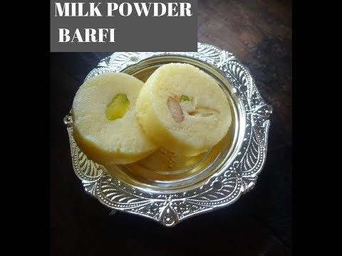 MILK POWDER BARFI  ( QUICK RECIPE)