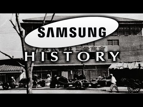 Great History of SAMSUNG | 1938-2017 | Timeline ᴴᴰ
