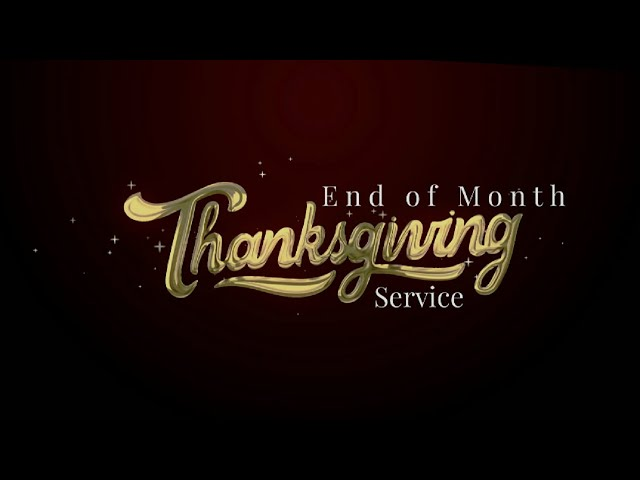 3RD SERVICE | UNDERTANDING THE WONDERS OF THANKSGIVING | MAY 30, 2021