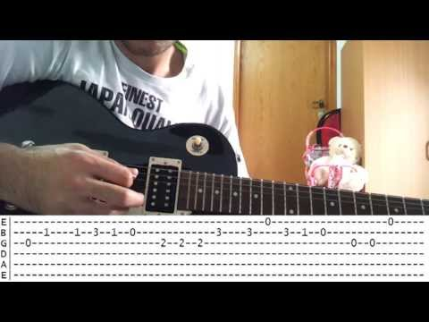 Learn easy guitar songs - We Wish You A Merry Christmas (with tabs)