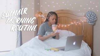 MY SUMMER MORNING ROUTINE 2019!