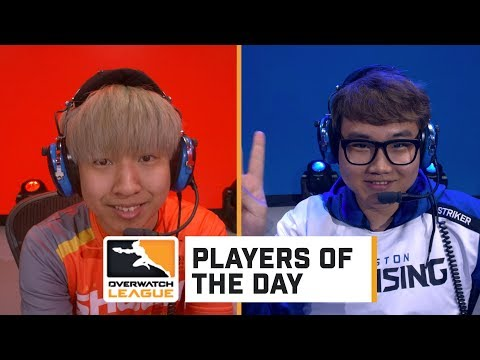 Striker and Architect - Players of the Day | Overwatch League