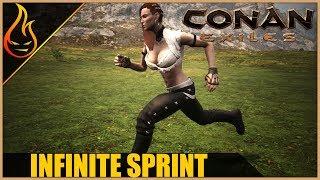 Infinite Sprint Conan Exiles 2018 Pro Tips and Bugs
