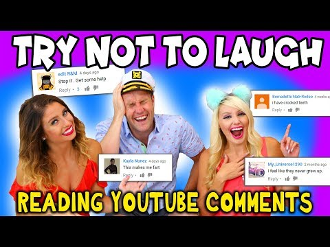 Try Not To Laugh Challenge: Reacting to Funny YouTube Comments. Totally TV