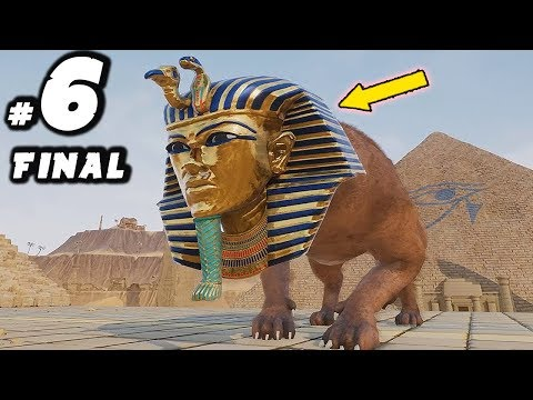 Rock of Ages 2 Gameplay: Part 6 - FINAL EGYPT BOSS! - Rock of Ages 2 Walkthrough Movie
